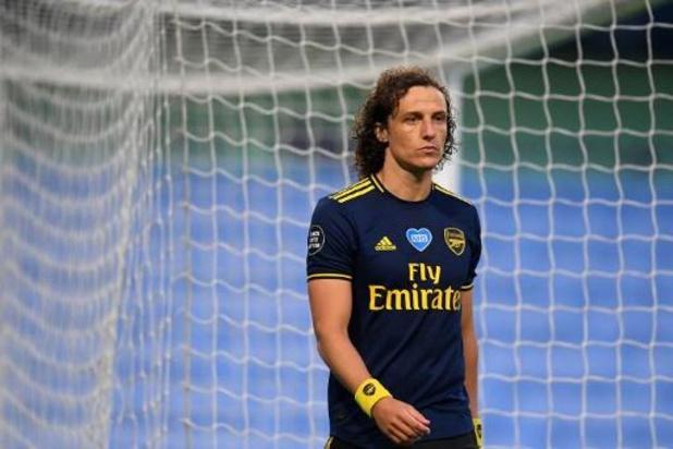 David Luiz verlengt contract bij Arsenal