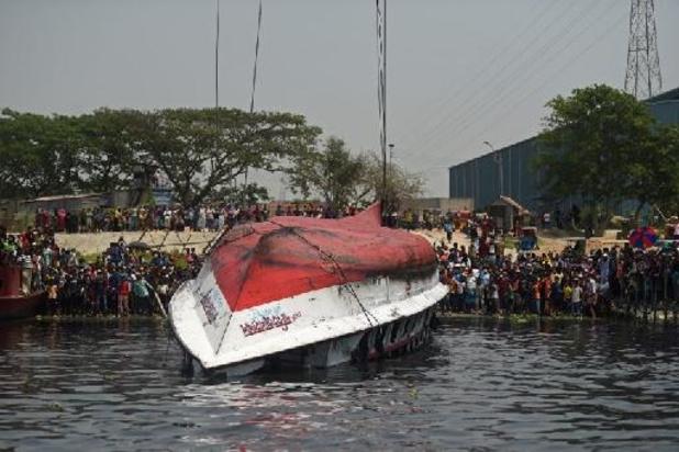 Zeker vijf doden bij schipbreuk op rivier in Bangladesh