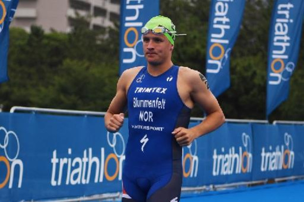 Coupe du monde de triathlon - Le Norvégien Blummenfelt décroche sa 2e victoire de rang, Marten Van Riel 9e à Lisbonne