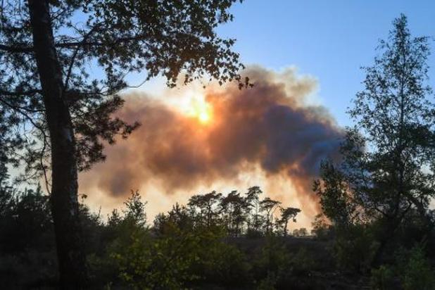 """167 hectare in brand, """"herstel zal decennia duren"""""""