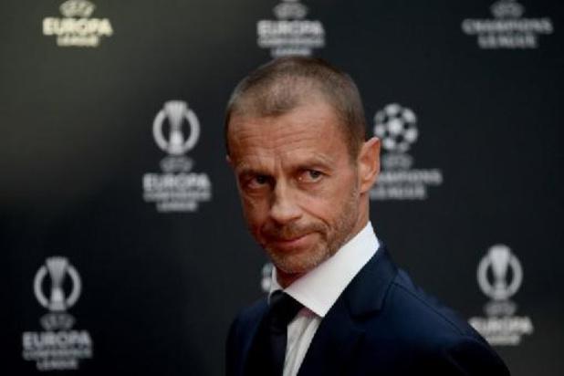 """UEFA-voorzitter Ceferin """"zwaar verontrust"""" over FIFA-plannen voor tweejaarlijks WK"""