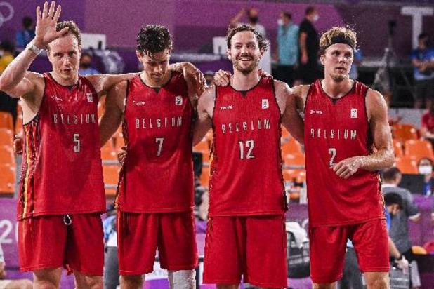 3x3 Lions ontmoeten Letland in halve finales