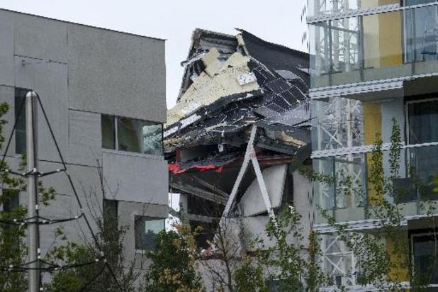 Vakbonden en slachtoffers van instorting nieuwbouw Antwerpen stellen zich burgerlijke partij