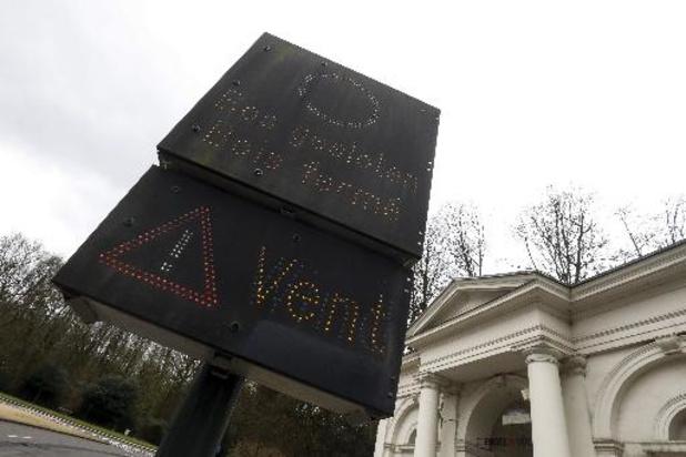 Les parcs bruxellois inaccessibles à partir de samedi soir