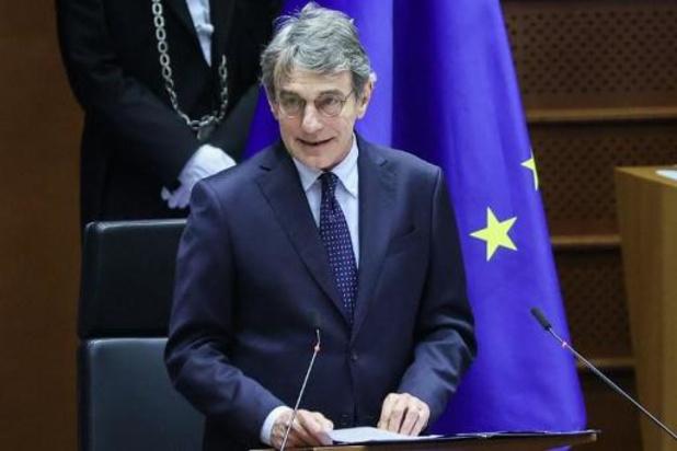 Parlement européen: ouverture de la plénière sous le signe des femmes
