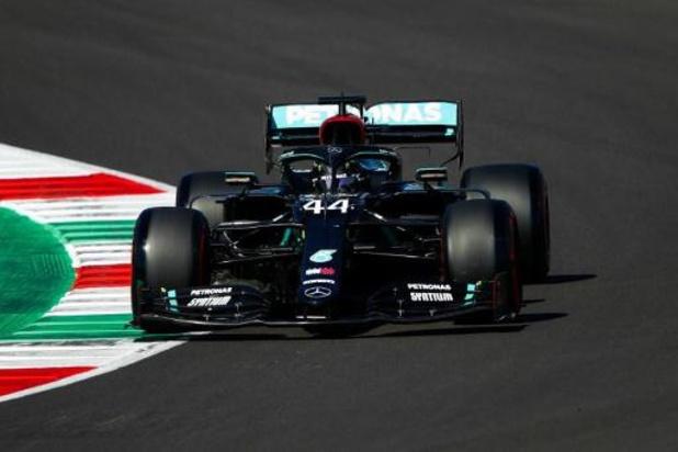 Lewis Hamilton (Mercedes) s'élancera en pole position au Grand Prix de Toscane