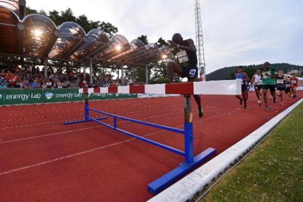 Le meeting d'athlétisme de Liège reporté à 2021