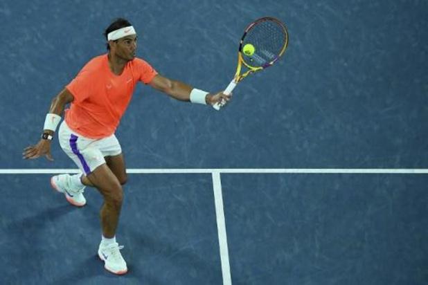 Rafael Nadal se hisse sans difficulté au 3e tour, Medvedev passe aussi sans encombre
