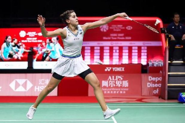 Olympische kampioene badminton Marín niet in Tokio