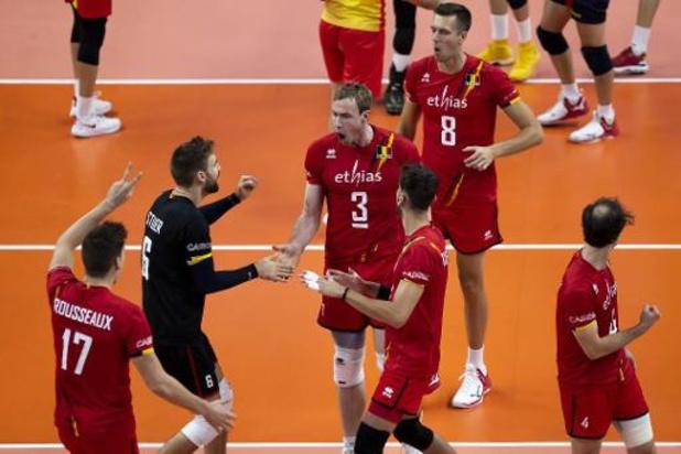 Euro de volley (m) : les Red Dragons ne tremblent pas face à l'Espagne et alignent un 3e succès