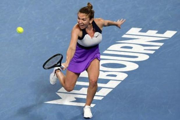 Simona Halep mag zich opmaken voor kwartfinale tegen Serena Williams