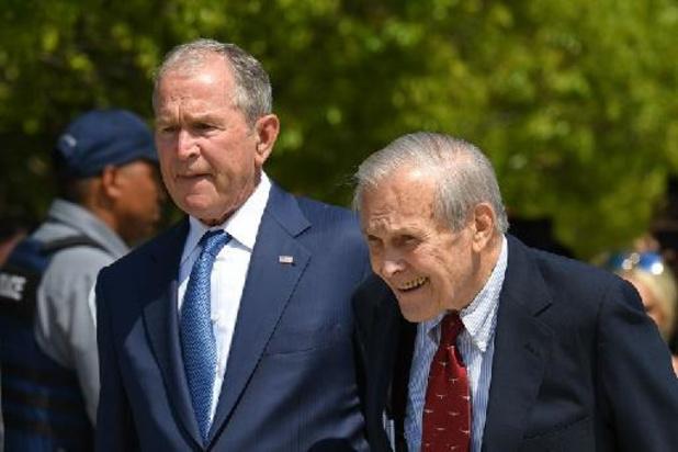 Rumsfeld heeft VS veiliger en beter gemaakt