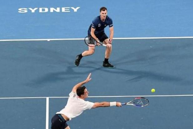 ATP Cup: Sans Andy Murray, la Grande-Bretagne battue par la Bulgarie dans le groupe de la Belgique