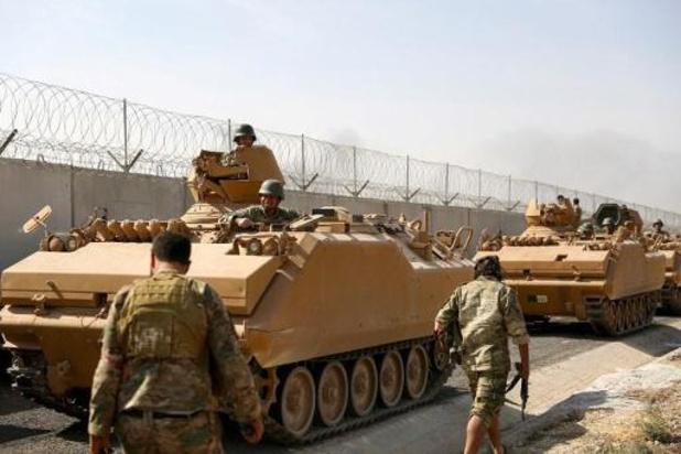 Meer dan 70.000 Syriërs op de vlucht in 48 uur na Turkse inval