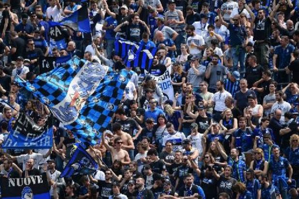 La finale de la Coupe d'Italie en présence de public, annonce le gouvernement