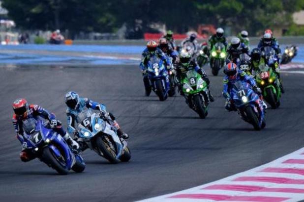 Les 6 heures de Spa motocyclistes n'auront pas lieu le 16 août
