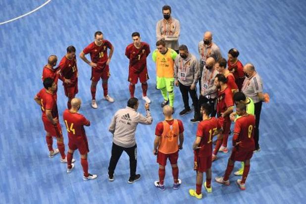 La Belgique s'incline en Italie, qui valide sa qualification