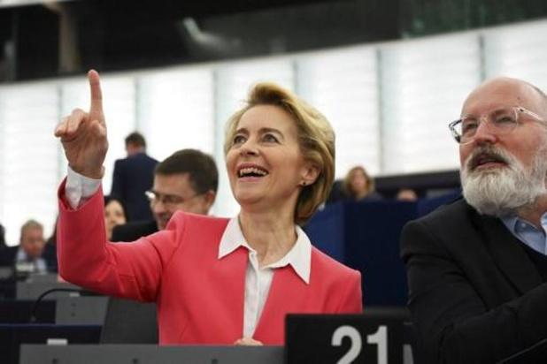 Ursula von der Leyen s'apprête à ouvrir la voie d'une Europe neutre en carbone en 2050