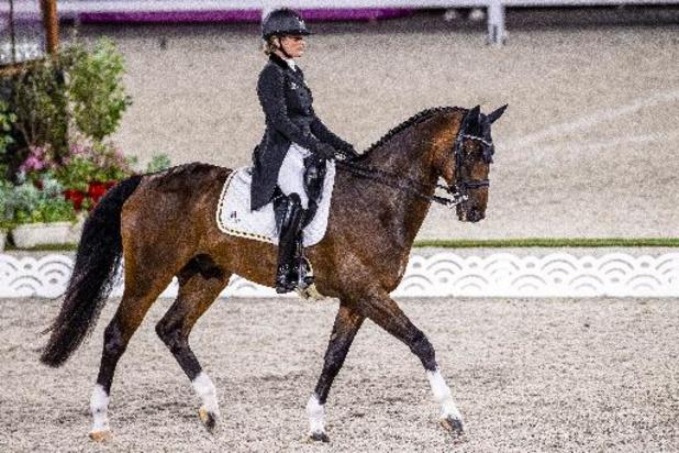 Lara De Liedekerke-Meier, 13e après la première journée du dressage à Avenches