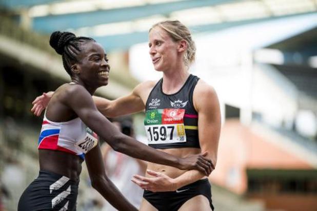 Championnats de Belgique d'athlétisme: Imke Vervaet devance Cynthia Bolingo sur 200m