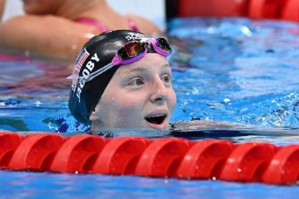 OS 2020 - 17-jarige Alaskaanse Lydia Jacoby verrast met goud op 100 meter schoolslag