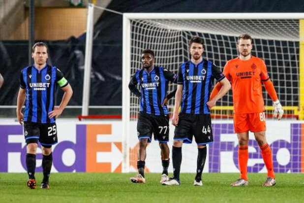 Europa League - Gehavend Club Brugge Europees uitgeschakeld na thuisnederlaag tegen Dinamo Kiev