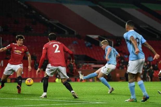 Les Belges à l'étranger - Pas de vainqueur dans le derby de Manchester