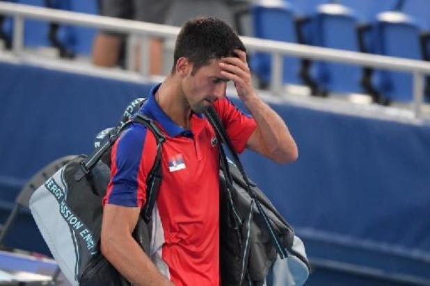 Djokovic verlaat Tokio zonder medaille, forfait in gemengd dubbel