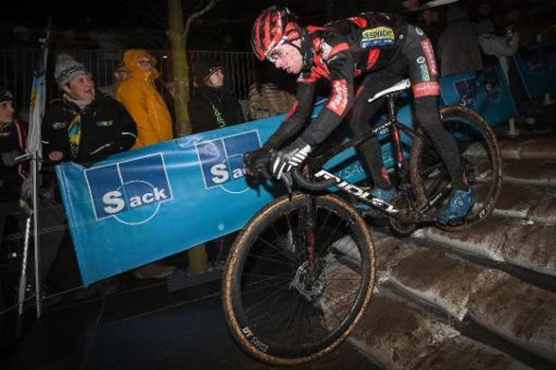Eli Iserbyt wint Cyclocross Masters in Waregem