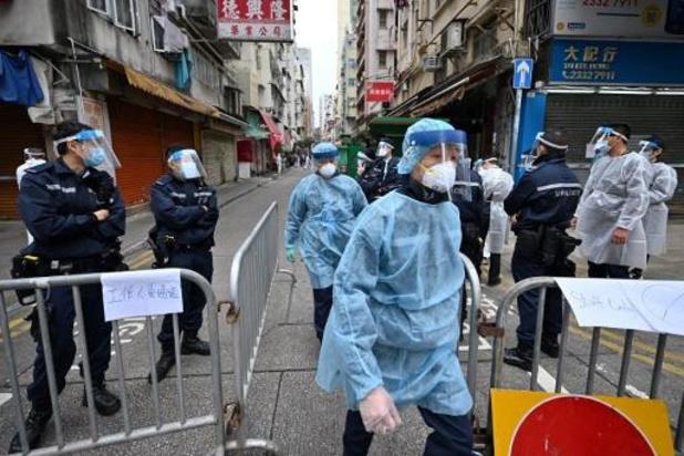 Hong Kong: fin du premier confinement d'un quartier, 13 cas de Covid-19 recensés
