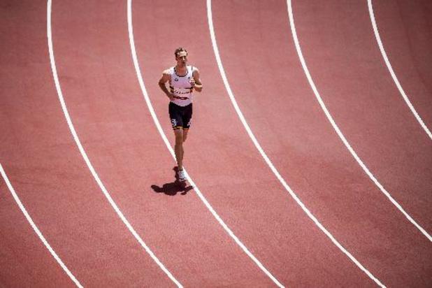 Robin Vanderbemden grijpt naast de finale van 200m