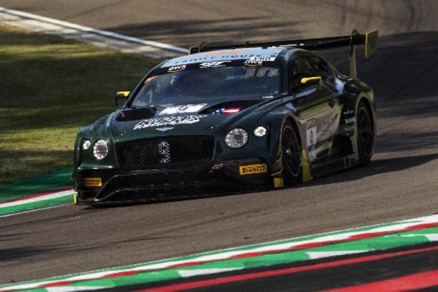 Na Indianapolis komt de Bentley GT3 naar Spa