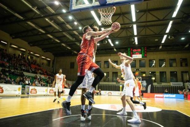 Euromillions Basket League - Antwerp te sterk voor Charleroi, Brussel verslaat Leuven