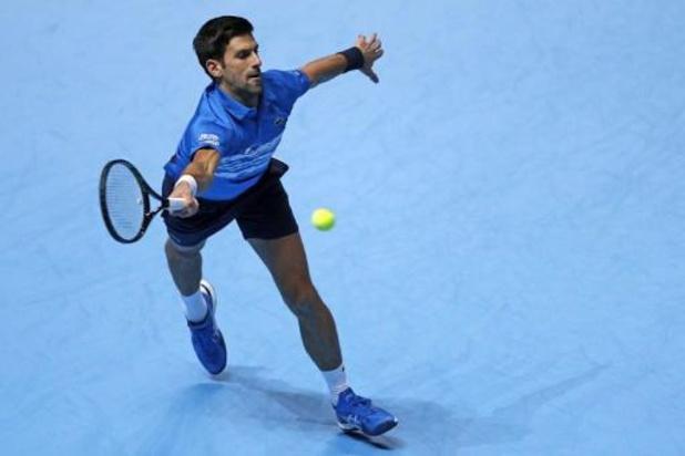 Djokovic lance les Masters par une nette victoire contre Berrettini