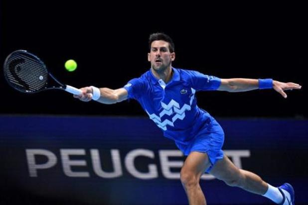 Djokovic grijpt ticket voor halve finales ATP na winst tegen Zverev