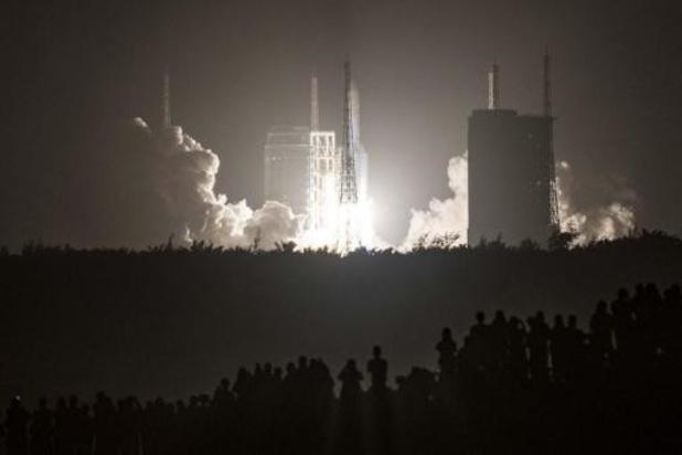 Landing van Chinese Maanverkenner nakend
