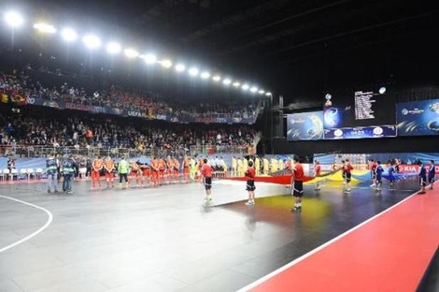 Futsalduivels beginnen beslissende kwalificatiereeks op weg naar het EK