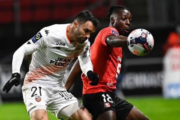 Les Belges à l'étranger - Pas de vainqueur dans le derby breton entre Rennes et Lorient