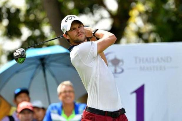Tour asiatique de golf: Detry termine deuxième en Thaïlande, Colsaerts septième