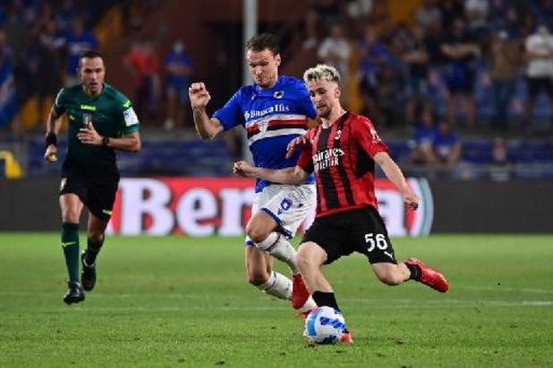 Les Belges à l'étranger - L'AC Milan et Alexis Saelemaekers débutent par un succès