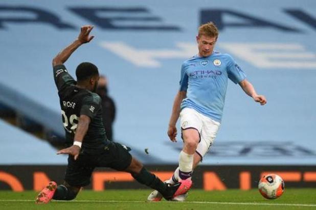 Les Belges à l'étranger - De Bruyne délivre son 18e assist de la saison lors du large succès de City sur Newcastle