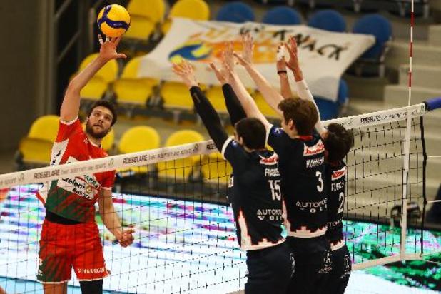 EuroMillions Volley League - Roeselare brengt stand in finale in evenwicht na winst bij Maaseik