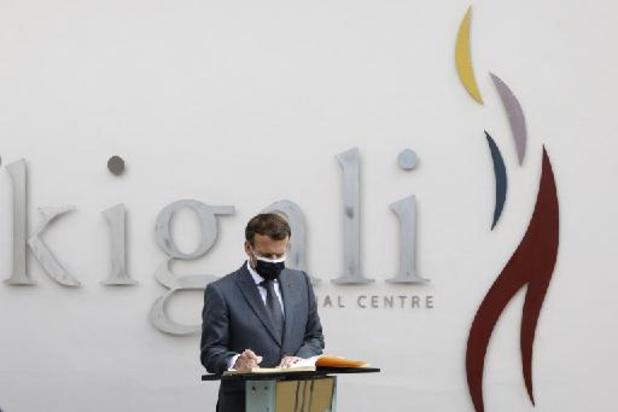 """Macron au Rwanda: """"Je viens reconnaître nos responsabilités"""" dans le génocide de 1994"""