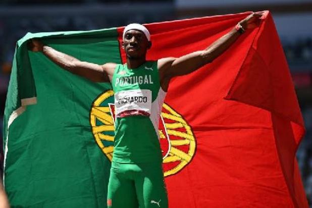 JO 2020 - Le Portugais Pedro Pichardo décroche l'or sur le triple saut