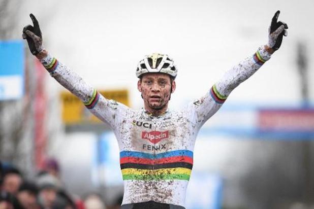 Alpecin-Fenix, met Van der Poel, krijgt wildcard voor Milaan-Sanremo en Strade Bianche