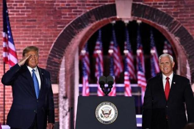 Amerikaanse presidentsverkiezingen - Pence aanvaardt partijnominatie voor vicepresident