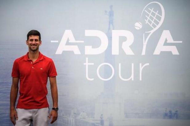Coronavirus - Montenegrijns luik van Djokovic' Adria Tour geannuleerd