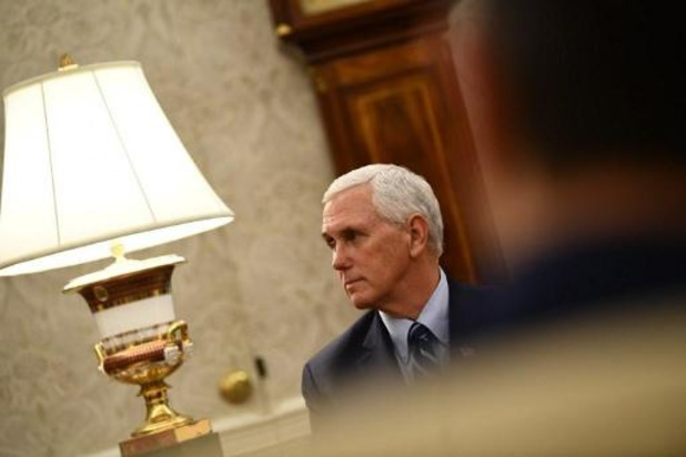 Coronavirus - Amerikaanse vicepresident Pence houdt afstand van Trump