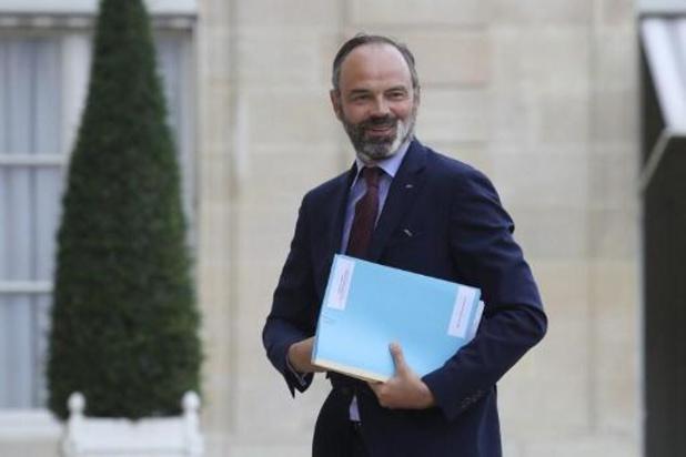 Elysée kondigt ontslag van regering van premier Edouard Philippe aan