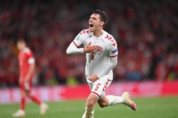 EK 2020 - Doelpunt tegen Rusland levert Christensen trofee van man van de match op
